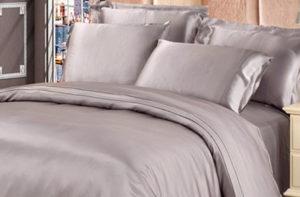 Шелковая наволочка Luxe Dream Серебро 2 шт. шелк 100%