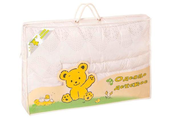 Образец упаковки Детское одеяло (110х140) Goldtex