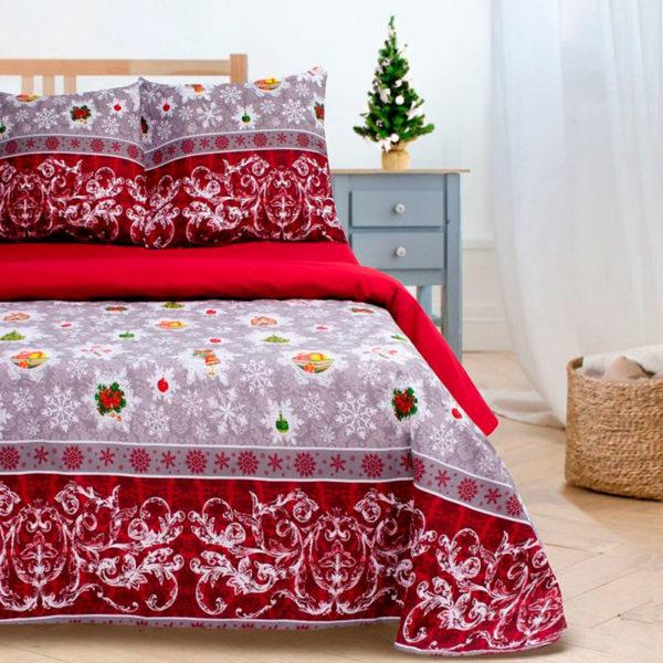 Постельное белье поплин Этель Новогодняя сказка ETР-211 купить в Москве!