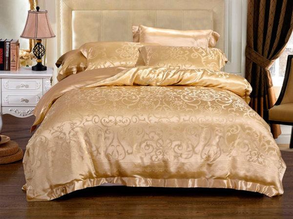 Шелковое постельное белье Luxe Dream Лизарди из шелка 100%