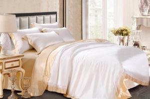 Шелковое постельное белье Luxe Dream Плаза Лайт шелк 100%