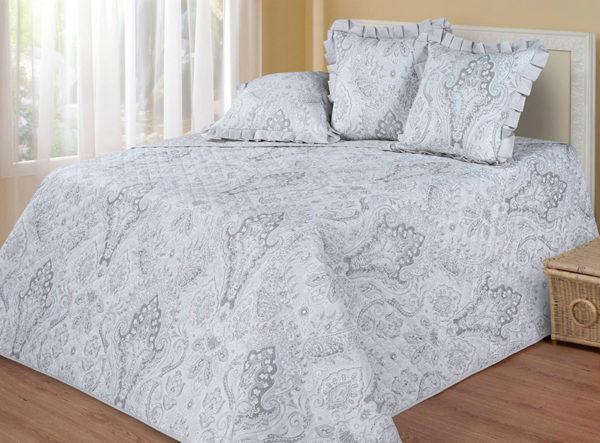 Покрывало Cotton Dreams Amara Silver (Амара Сильвер) Valencia