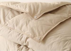 Двойное пуховое одеяло Premium Quality (белый гусиный пух 100%) 200/220 GoldTex