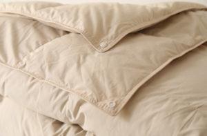 Двойное пуховое одеяло Premium Quality (белый гусиный пух 100%) 220/240
