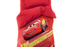 Детское постельное белье Этель Disney Чемпион Тачки хлопок 100%