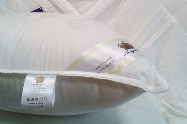 Подушка эвкалиптовое волокно COMFORT 50/70 (высокая и упругая)