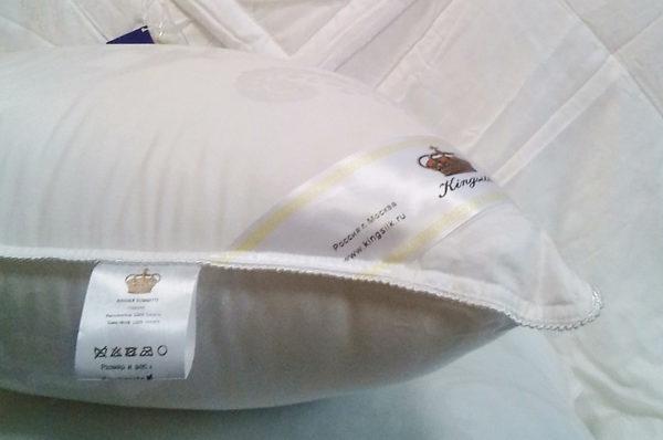 Подушка эвкалиптовое волокно COMFORT 70/70 (упругая) KingSilk