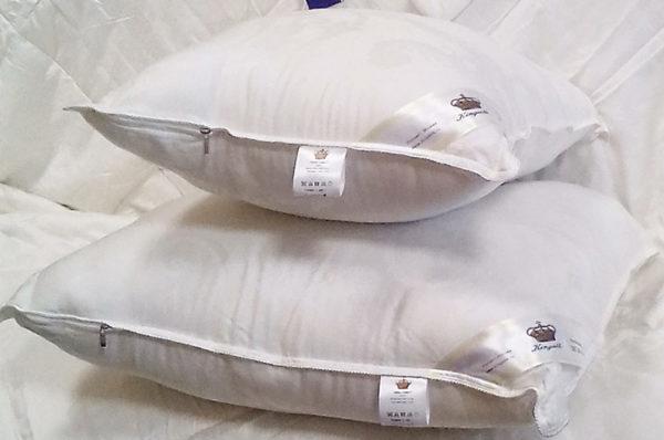 Подушка эвкалиптовое волокно COMFORT 50/70 (упругая) KingSilk