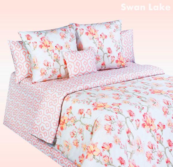 Постельное-белье-перкаль-Cotton-Dreams-Swan-Lake