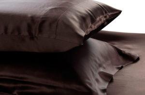 Шелковая наволочка Luxe Dream Черный 2 шт. шелк 100%
