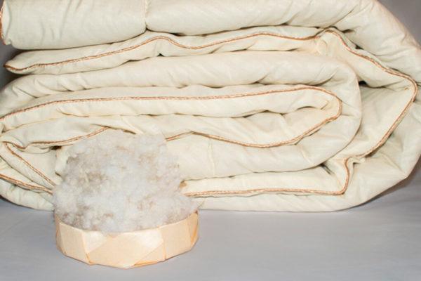 Одеяло шерстяное Nature`s «Шерстяной Завиток» 140/205
