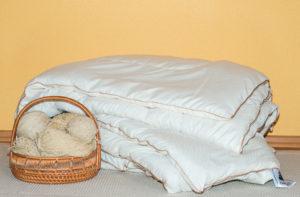 Одеяло шерстяное Nature`s «Шерстяной Завиток» 172/205
