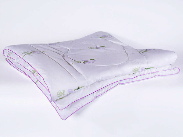Одеяло шелковое Nature`s (Натурес) «Радужный Ирис» 140/205