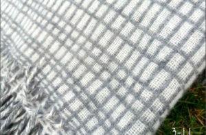 Плед ETNO 3-11 (шерсть мериноса 100%) 140/200 CottonNew.ru