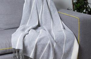 Плед ENNA 11-10 (шерсть мериноса 100%) 140/200 CottonNew.ru