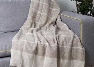 Плед ENNA 2-05 (шерсть мериноса 100%) 140/200 CottonNew.ru