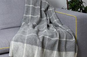 Плед ENNA 2-10 (шерсть мериноса 100%) 140/200 CottonNew.ru