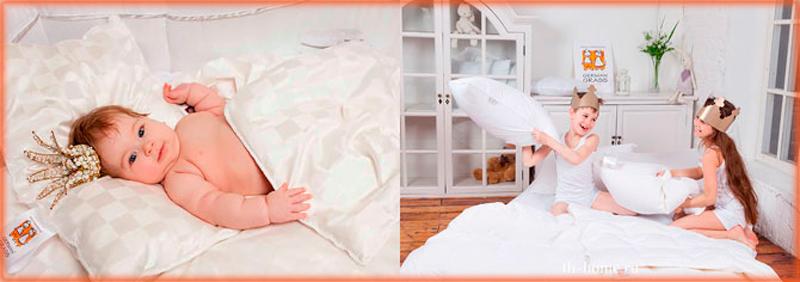 German Grass (Baby Kinder) детское одеяло и подушки