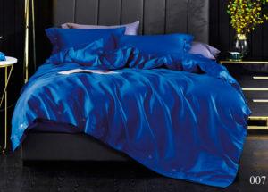 Постельное белье сатин Kingsilk ELS-007 (Синий)