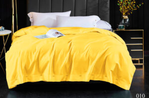 Постельное белье сатин Kingsilk ELS-010 (Желтый)