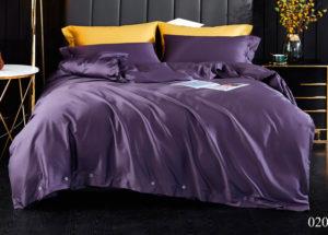 Постельное белье сатин Kingsilk ELS-020 (Фиолетовый)