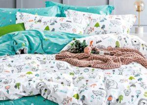Детское постельное белье сатин Asabella 1334 хлопок 100%