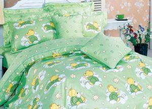 Детское постельное белье сатин Asabella 1355 хлопок 100%