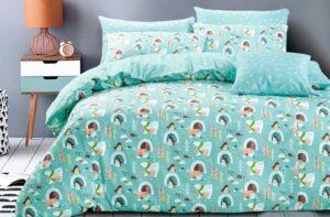 Детское постельное белье сатин Asabella 1356 хлопок 100%