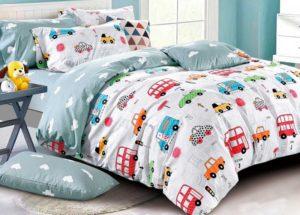 Детское постельное белье сатин Asabella 1357 хлопок 100%
