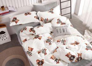 Детское постельное белье сатин Asabella 13957хлопок 100%