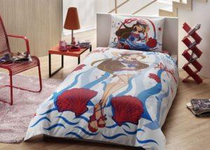 Детское постельное белье TAC WINX FLORA OCEAN хлопок 100%