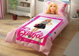 Детское постельное белье TAC Disney BARBIE ранфорс 100% хлопок