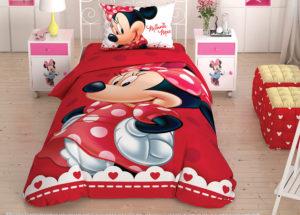Детское постельное белье TAC Disney MINNIE хлопок 100%