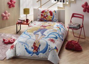 Детское постельное белье TAC WINX STELLA OCEAN хлопок 100%