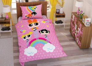 Детское постельное белье TAC Disney POWER PUFF GIRL ранфорс