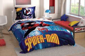 Детское постельное белье TAC SPIDERMAN INTO ранфорс