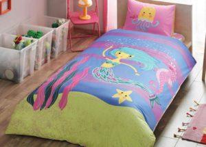 Детское постельное белье TAC MERMAID хлопок 100%
