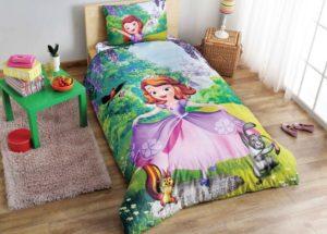 Детское постельное белье TAC Disney SOFIA FOREST ранфорс