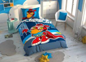 Детское постельное белье TAC SIZINKILER ZEYTIN ранфорс