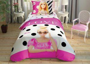 Детское постельное белье TAC Disney BARBIE GLITTER ранфорс