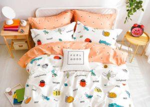 Детское постельное белье сатин Asabella 1224 хлопок 100%