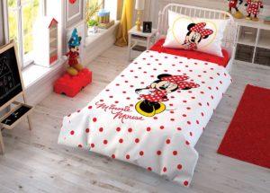 Детское постельное белье TAC Disney MINNIE ранфорс
