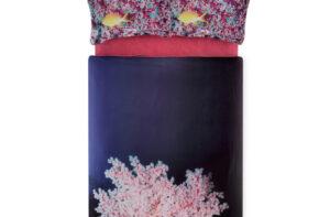 Постельное белье сатин 3D TAC (Тач) BLUSH розовый SATEN DELUX