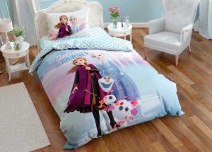 Детское постельное белье TAC Disney Холодное сердце 2 ранфорс