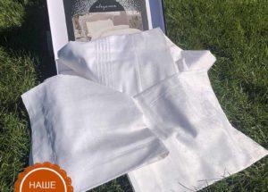 Постельное белье жаккард TAC (Тач) DIANA белый JAKAR SATEN 2