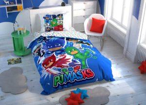 Детское постельное белье TAC Disney PJ MASKS ранфорс