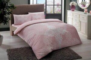 Постельное белье TAC JANNA розовый RANFORCE