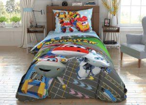 Детское постельное белье TAC RUNWAY ранфорс