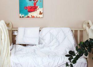 Подушка+одеяло BABY COTTON GRASS