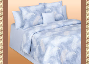 Постельное белье твил-сатин Amazonia Cotton Dreams MILAN Light